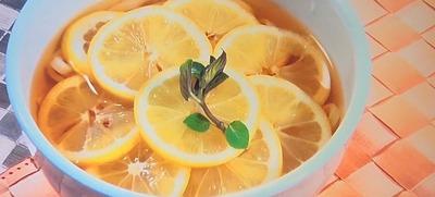 冷たいレモンうどん 780円
