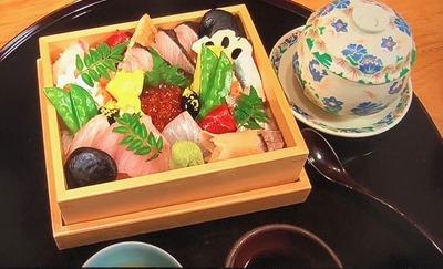 烏城黄金かくし寿司 4500円