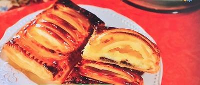 【大根と豆腐でチョコカスタードパイ】レシピ