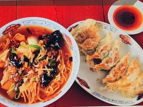 男子ごはん【サンマー麺】【しょうが餃子】レシピ