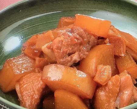 【大根と鶏肉の煮もの】レシピ