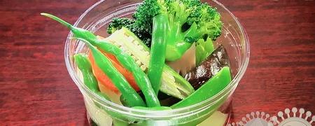 野菜カップ