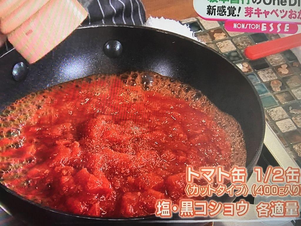 煮詰めれば簡単トマトソースの完成