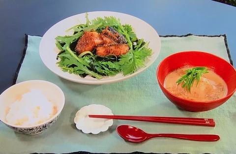 【銀だらのピリ辛煮】【ふろふきかぶのごま汁】レシピ