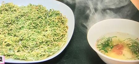 【パリパリかた焼きそば&梅スープ】レシピ