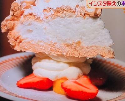 スノーフレークケーキ