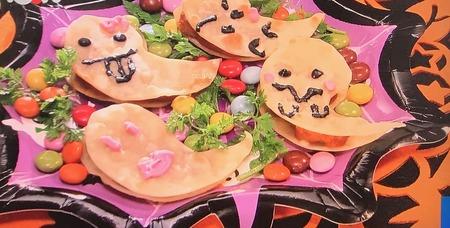 【おばけサンド】レシピ