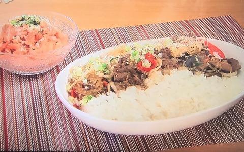 おびゴハン!【チャプチェ丼】レシピ