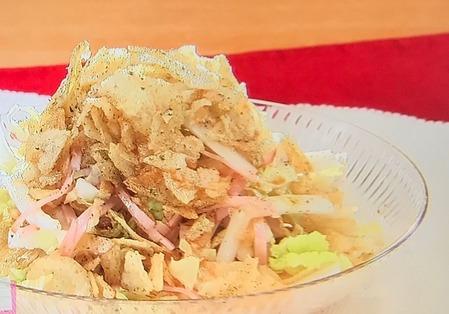 【白菜のタワーサラダ】レシピ