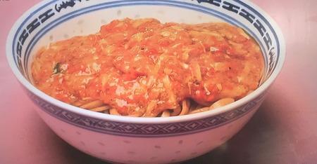 清炒蟹粉帯麺