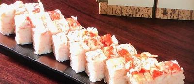 【たらばがに押し寿司】