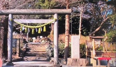 鎌倉・梶岡「葛原岡神社」