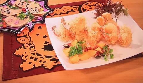 おびゴハン!【海老のマヨネーズ和え】【おばけサンド】レシピ