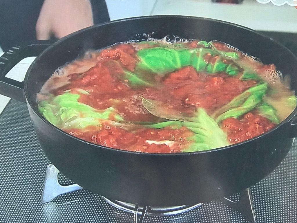 沸騰後弱火にして約20~30分煮込む