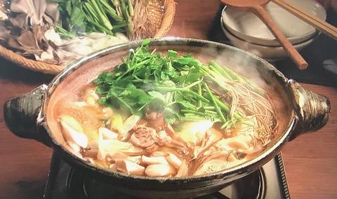3分クッキング【せり鍋】レシピ