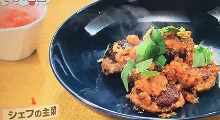 【サンマのつみれ 椎茸詰め】レシピ