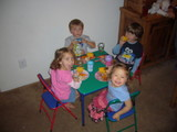 子供達のディナー