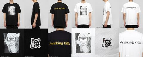 fr2サンジtシャツ黒白