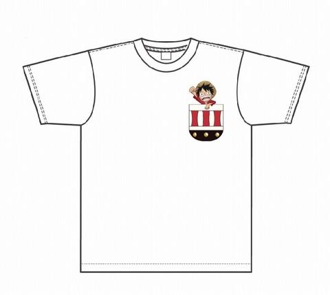 s-ひょっこりTシャツ(ルフィ)