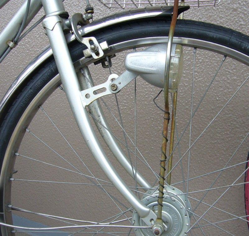 「自転車 ライト ダイナモ タイヤ」の画像検索結果