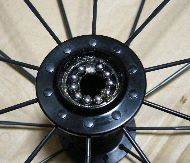 自転車の 自転車 ハブ ベアリング サイズ : もう一度ハブを分解して、購入 ...