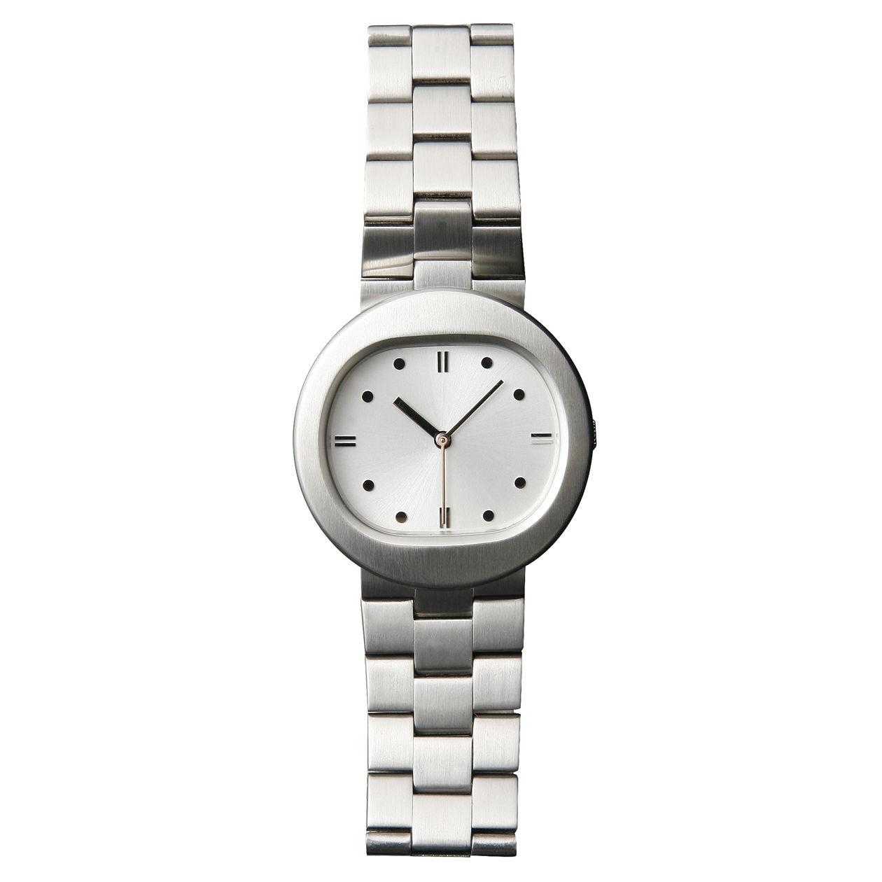 ステンレス腕時計