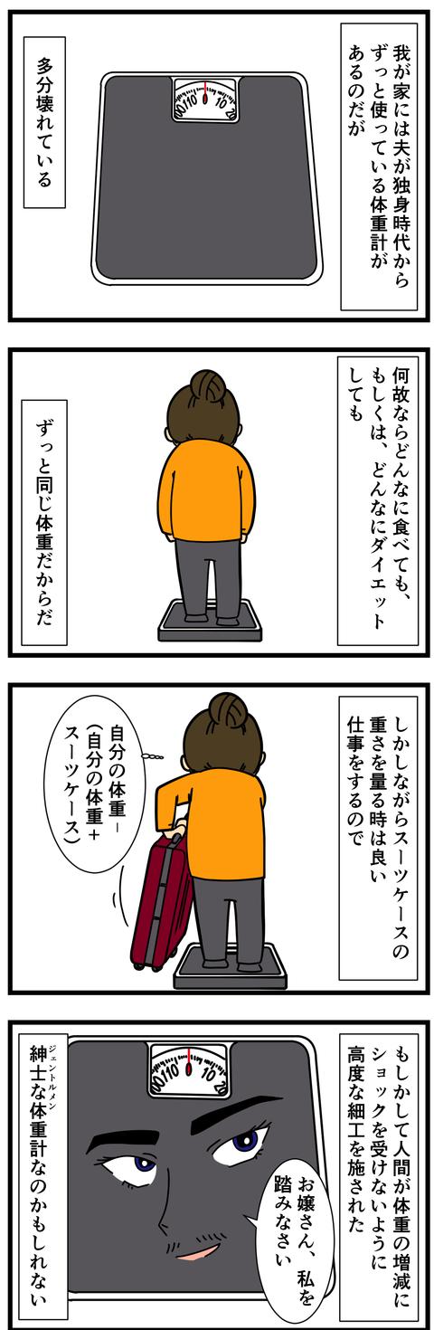 義母からもらった体重計 (2)