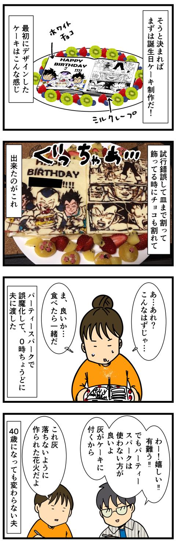 夫の誕生日 (3)