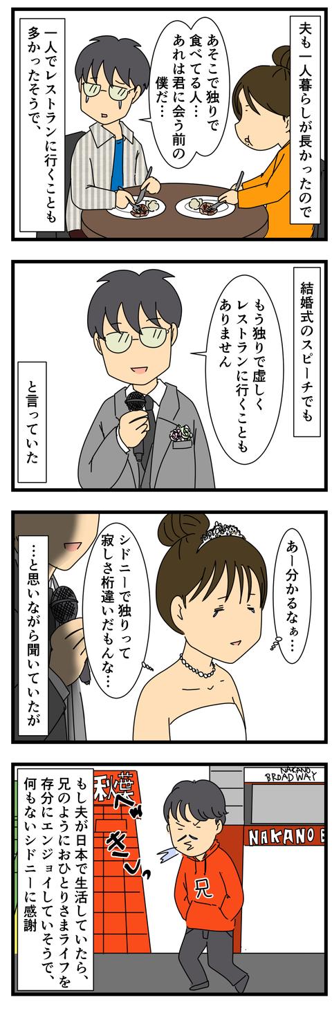 おひとりさま生活 (3)