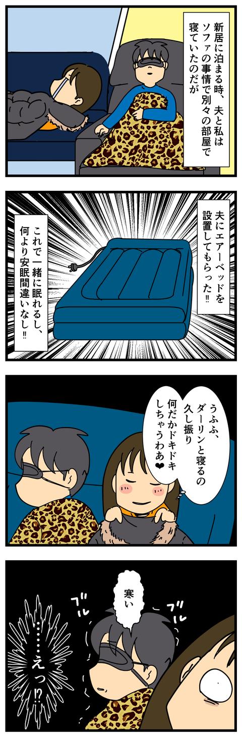 悲しきエアーベッド (2)