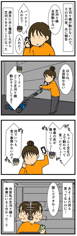 クララが立った、芝刈り機が動いた!! (2)
