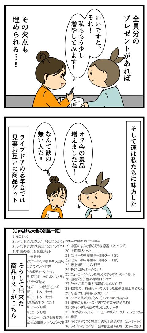 オフ会、じゃんけん大会の景品 (3)