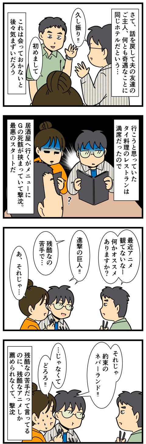 友達のパートナーと仲良く出来ますか…? (3)