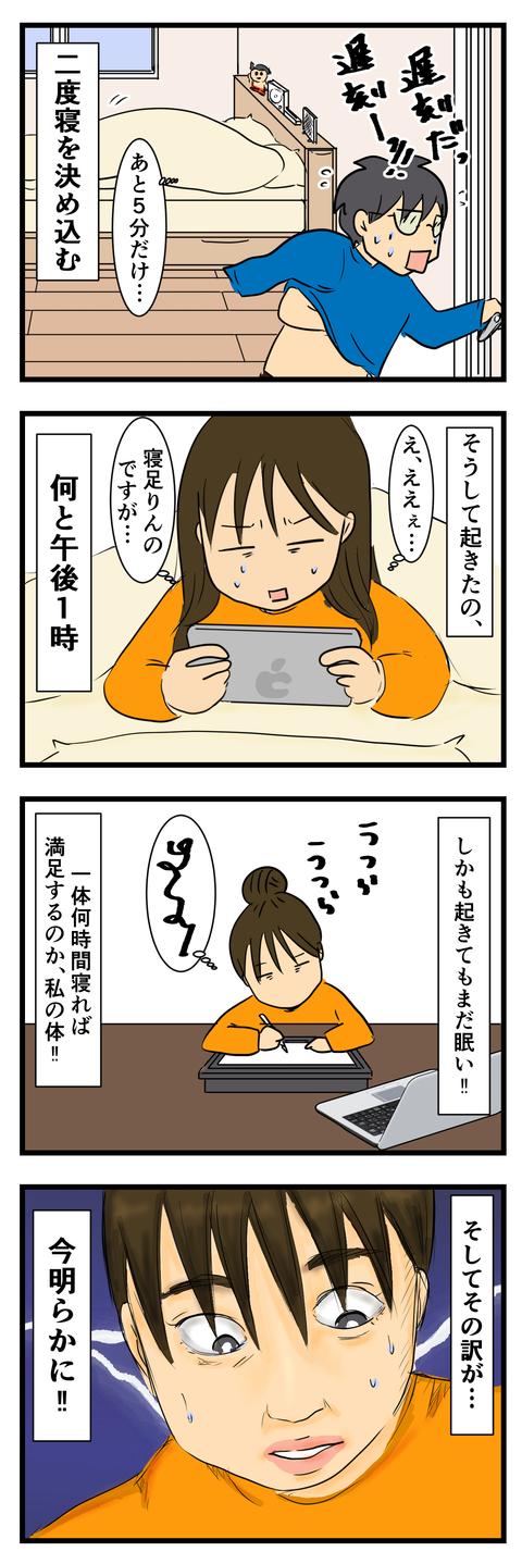 なぜこんなに眠いのか (4)