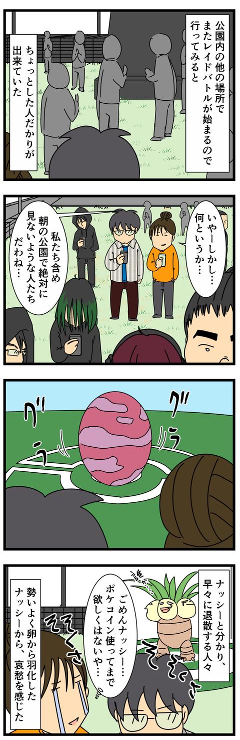 ポケモンレイドバトル初挑戦! (3)