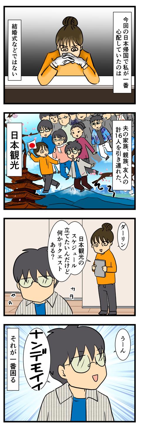 今回の日本帰国で心配したこと