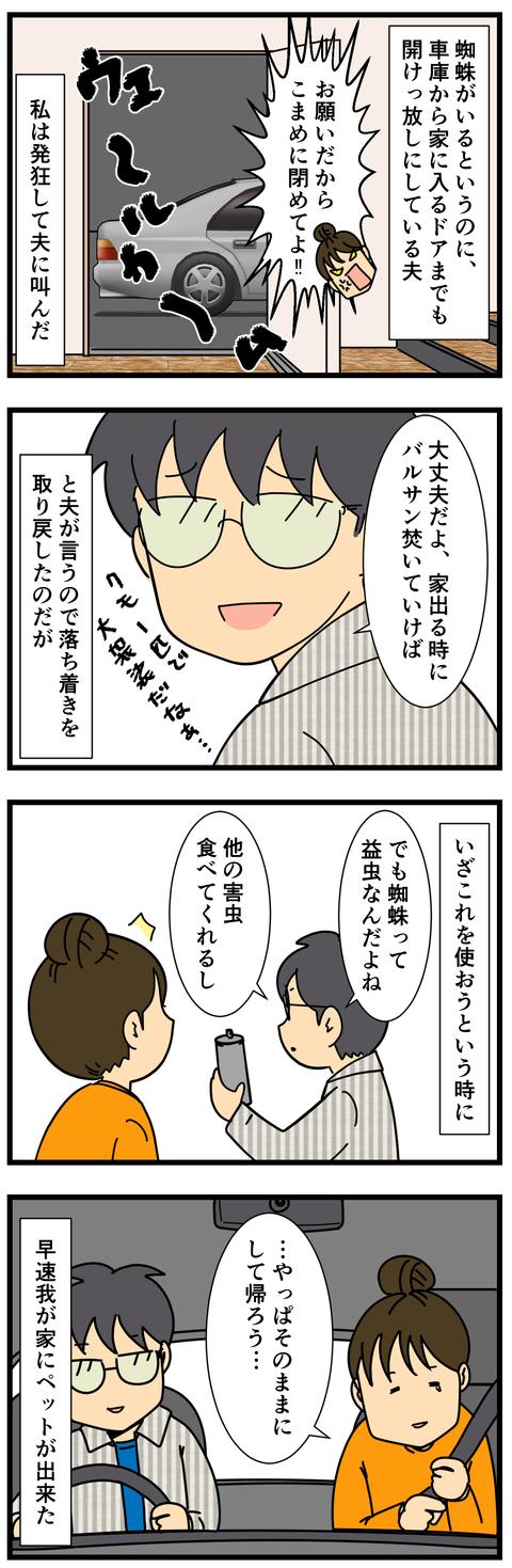 く、くも…‼ (3)