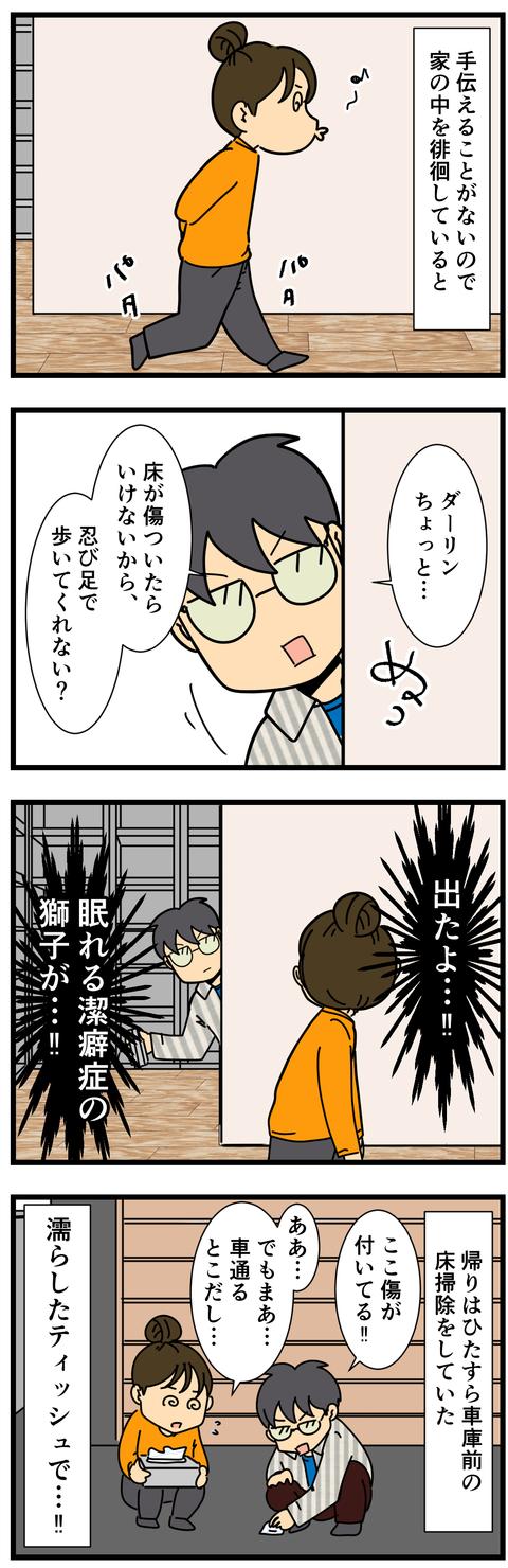 潔癖症、再び (3)