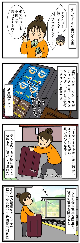 空っぽのスーツケースだったはずなのに (3)