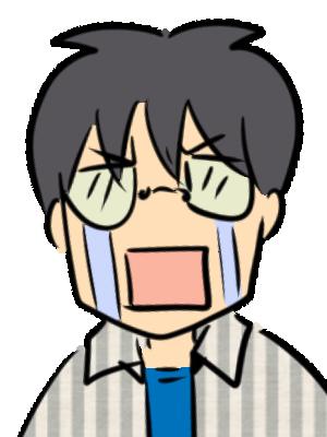 泣き顔 J