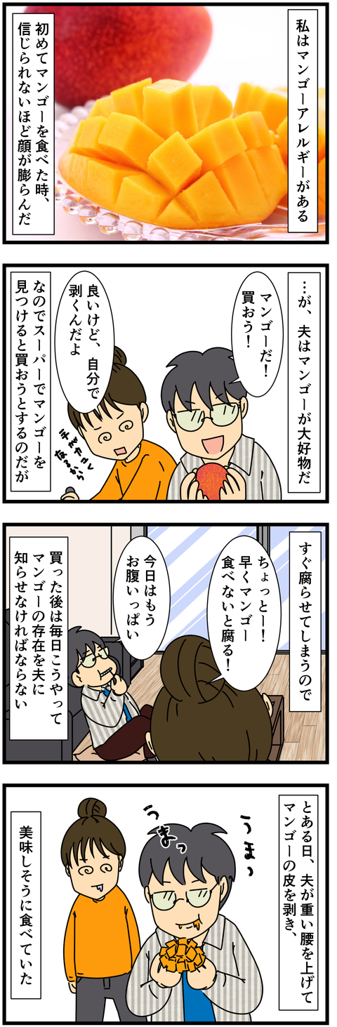 マンゴーアレルギー (2)
