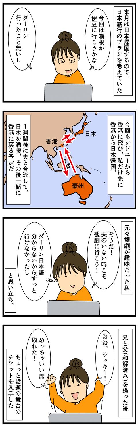 日本帰国時のプランを立てる (2)
