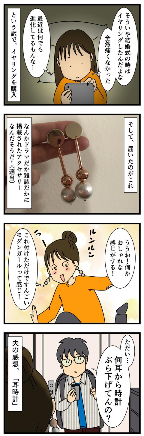 大振りピアス (3)