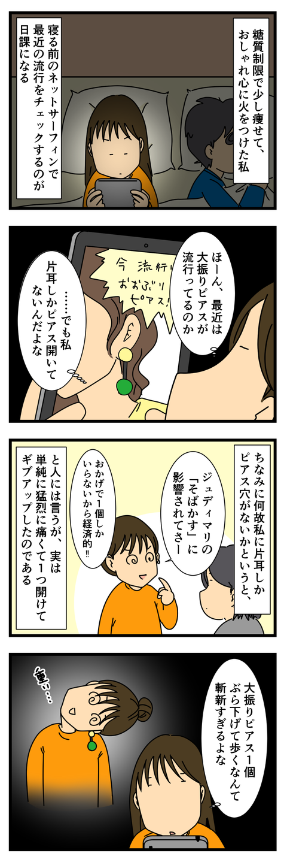 大振りピアス (2)