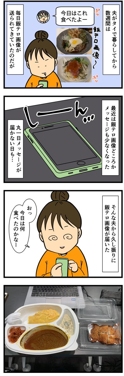 夫のタイでの飯テロ画像! (2)