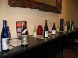 テーブルの酒たち