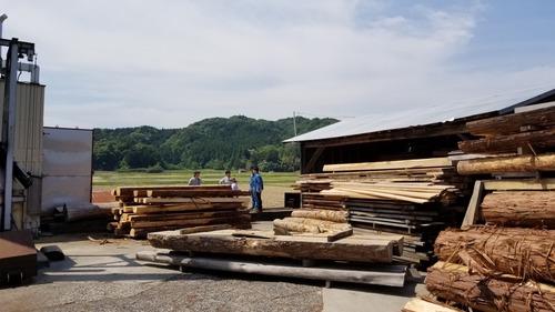 材木屋と行く森林ツアー2019-10