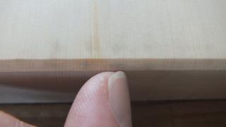 天然木曽桧柾目天板 3