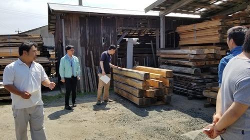材木屋と行く森林ツアー2019-11