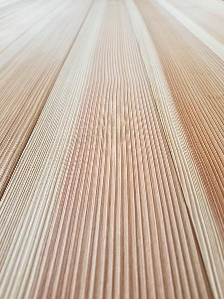 高樹齢! 百年杉柾浮造りフローリング 4